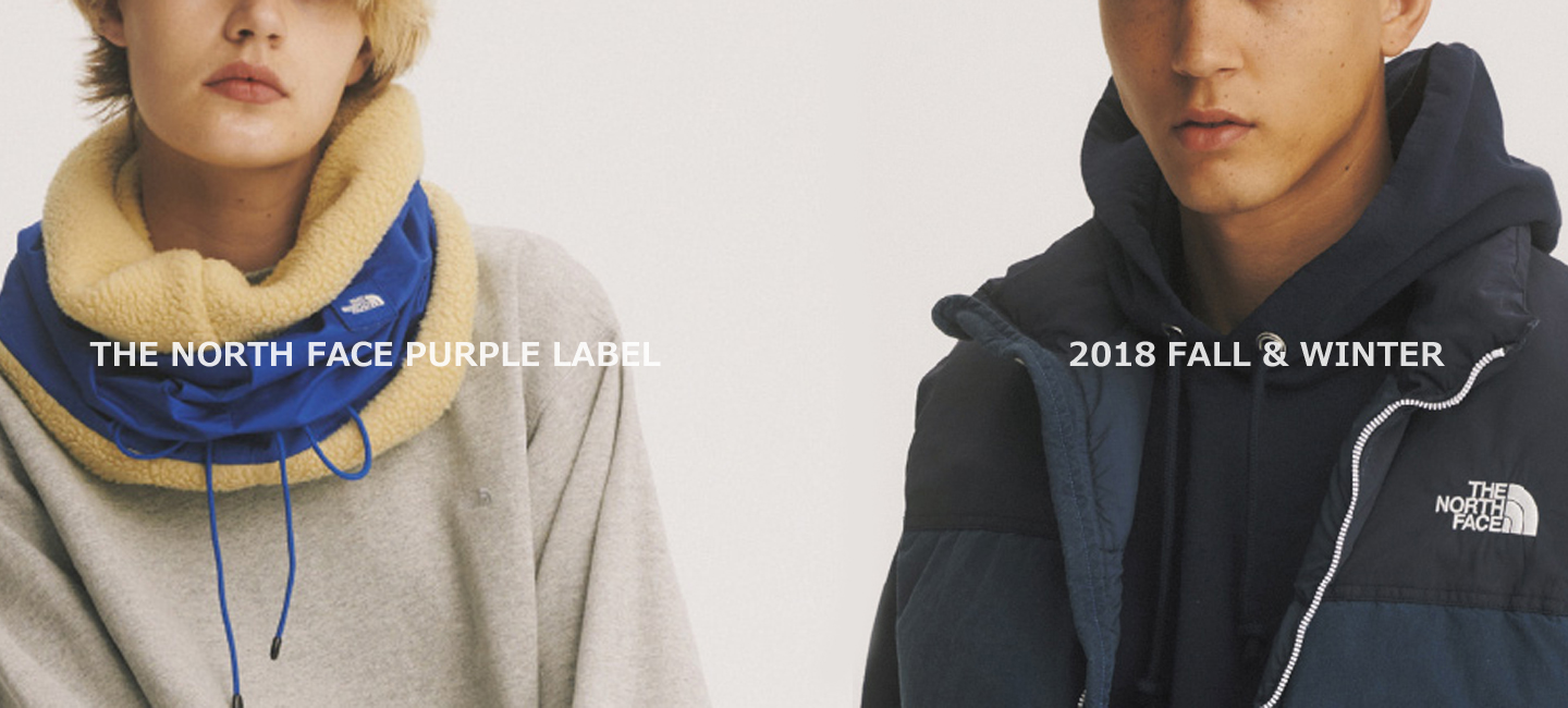 THENORTHFACE PURPLE LABEL