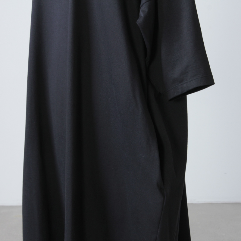 08sircus(ゼロエイトサーカス) Lotus cross jersey crew long dress