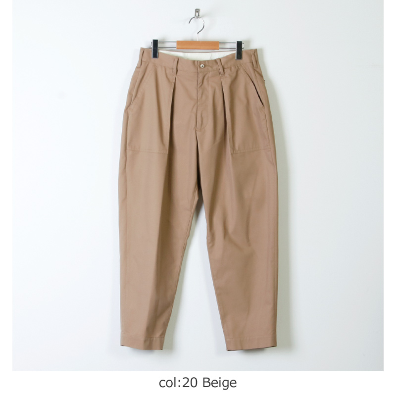 08sircus(ゼロエイトサーカス) High count chino cloth painter pants
