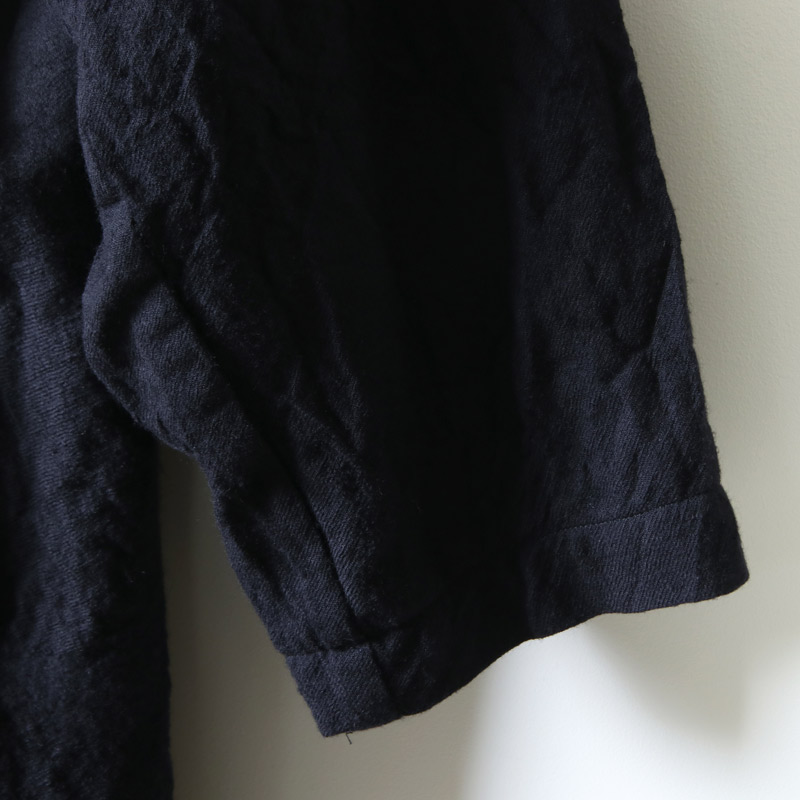 08sircus(ゼロエイトサーカス) Wool viyella fulling coat