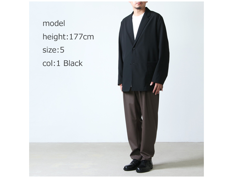 08sircus(ゼロエイトサーカス) High count poplin jacket
