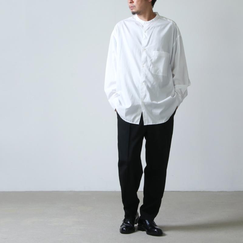 08sircus(ゼロエイトサーカス) High count poplin pants