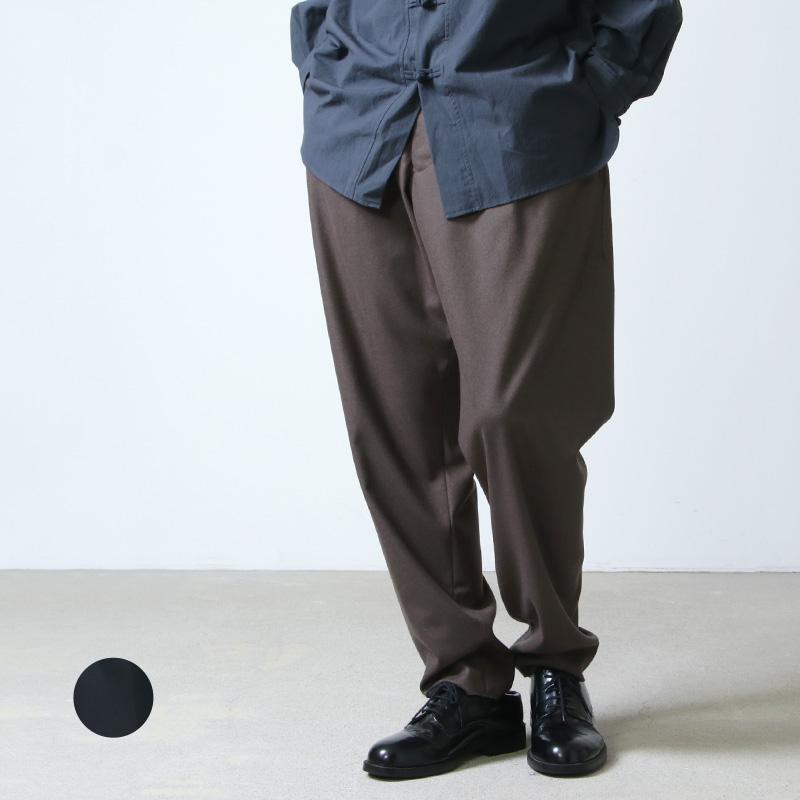 08sircus (ゼロエイトサーカス) Cashmere wool pants / カシミアウール パンツ