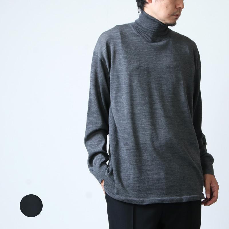 08sircus (ゼロエイトサーカス) 2way neck layered sweater / 2way ネック レイヤードセーター