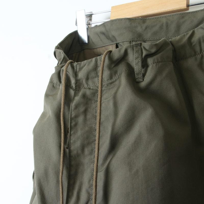 08sircus(ゼロエイトサーカス) C/N oxford cargo pants