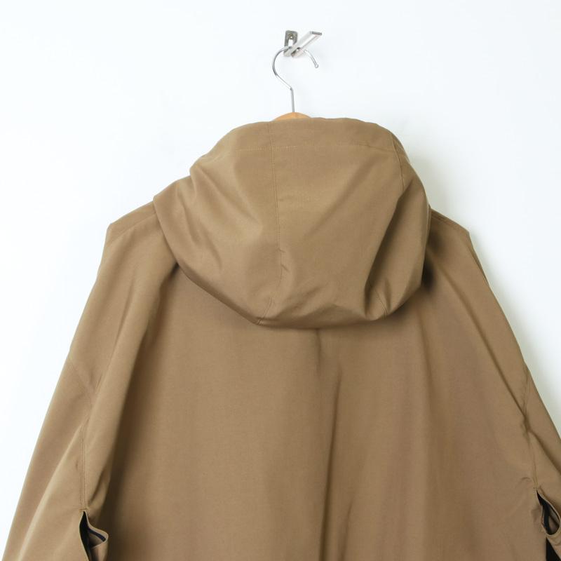 08sircus(ゼロエイトサーカス) High count weather hoodie coat
