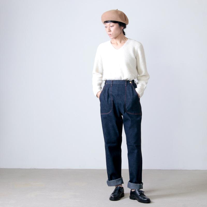 ANATOMICA(アナトミカ) LADY'S PAINTER PANTS INDIGO