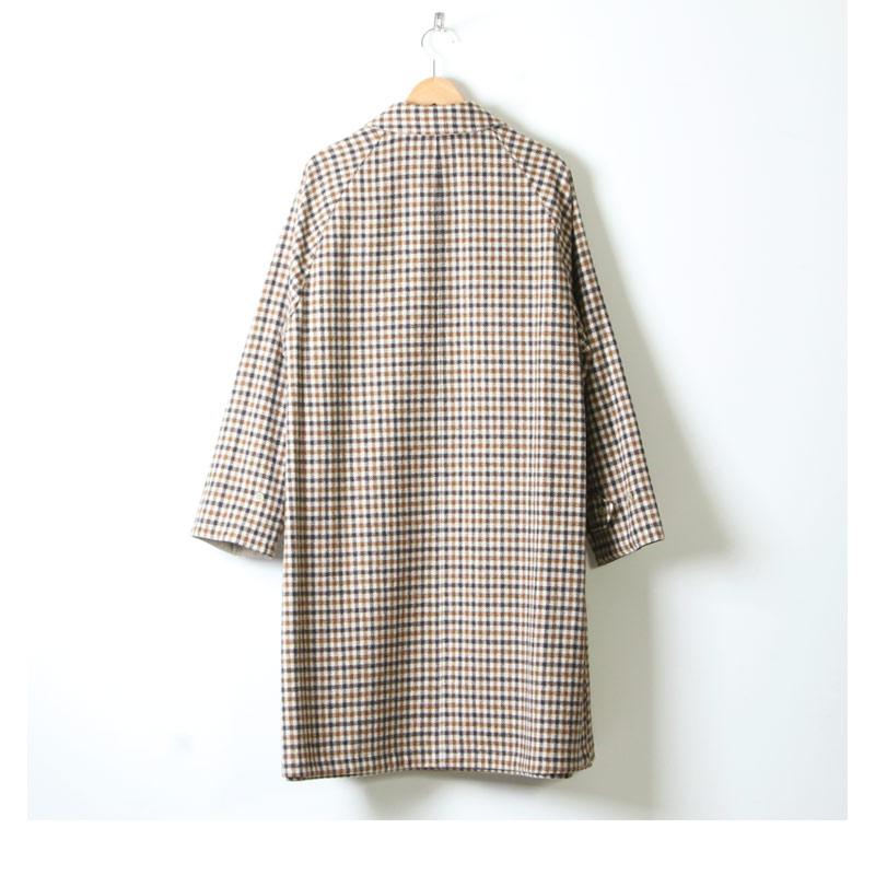 ANATOMICA(アナトミカ) SINGLE RAGLAN � S-P GABARDINE Beige For Woman
