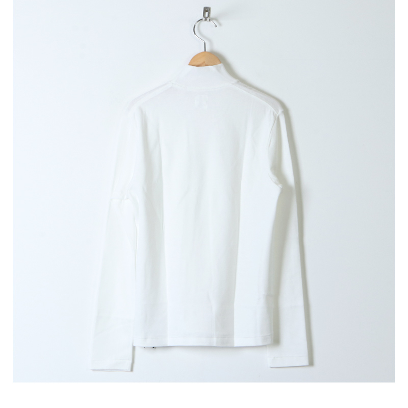 ANATOMICA(アナトミカ) MOCK NECK TEE L/S For Woman