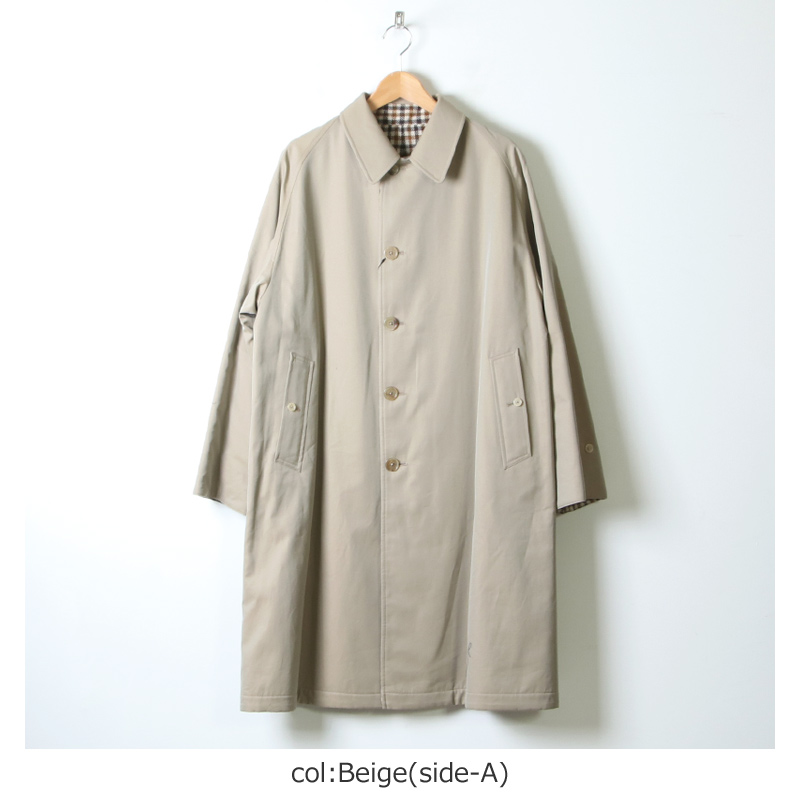 ANATOMICA(アナトミカ) SINGLE RAGLAN � S-P GABARDINE Beige For Men