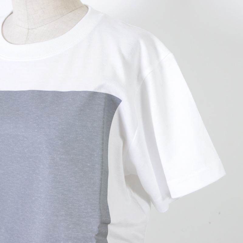 and wander(アンドワンダー) cotton reflect T for woman