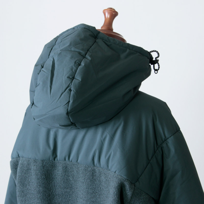 and wander(アンドワンダー) top fleece Jacket