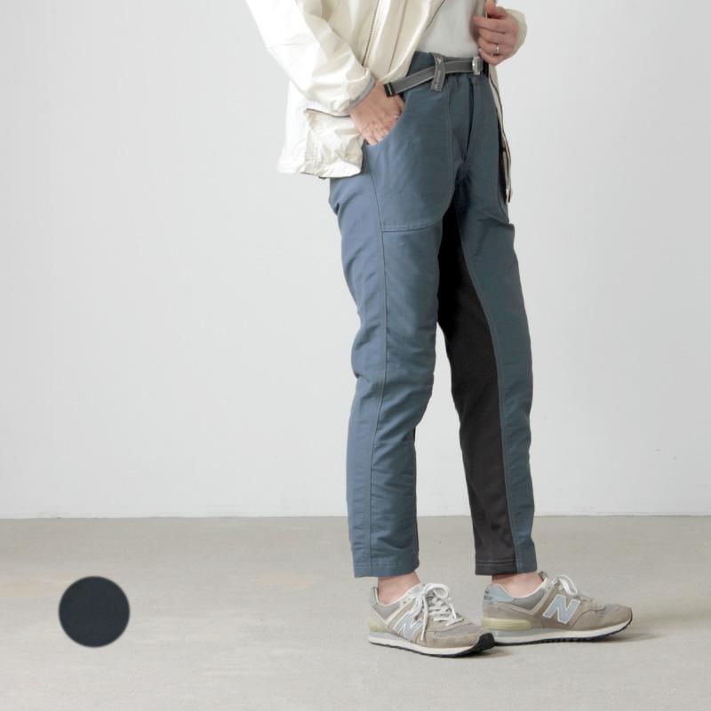 and wander (アンドワンダー) 60/40 cloth rib pants for woman / 60/40クロスリブパンツ レディース
