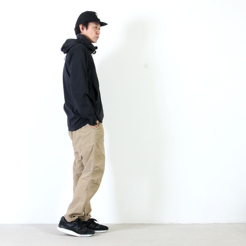 and wander(アンドワンダー) trek jacket For Men
