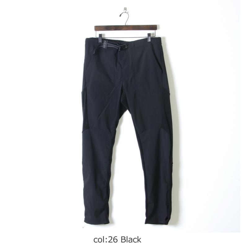 and wander アンドワンダー fleece base pants for man フリース