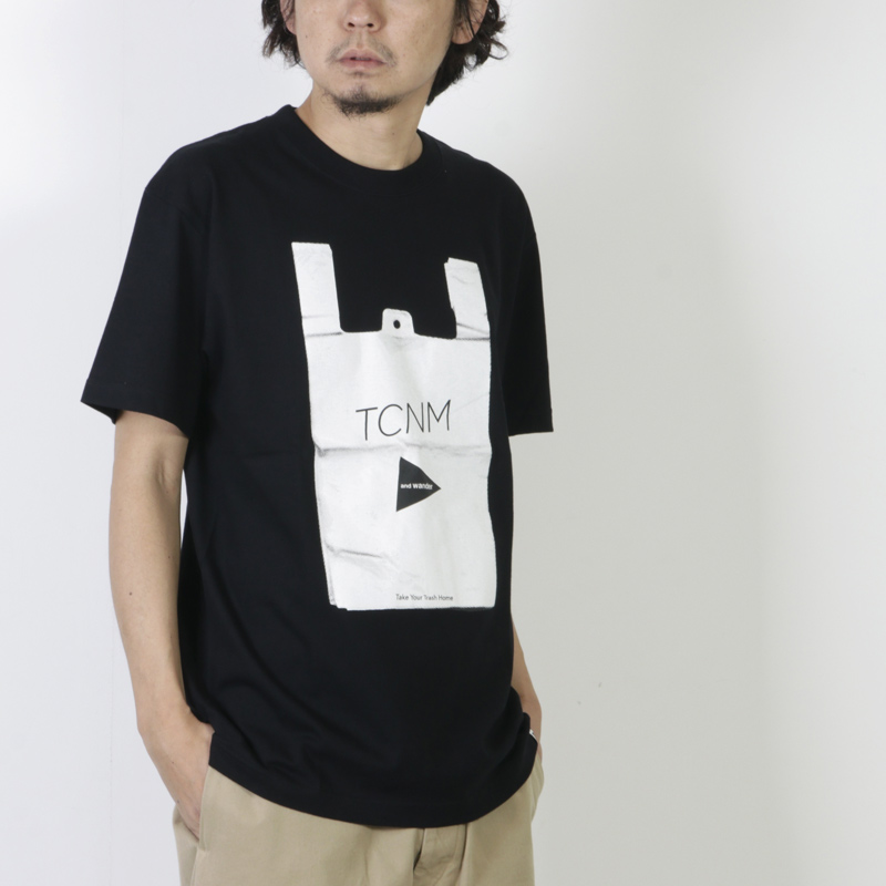 and wander(アンドワンダー) TCNM vinalbag T by toconoma for man