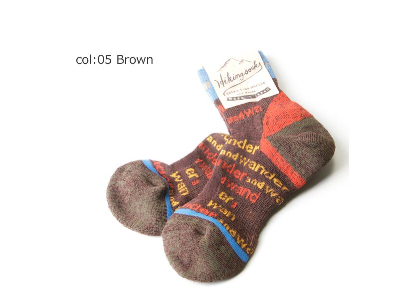 and wander(アンドワンダー) and wander socks