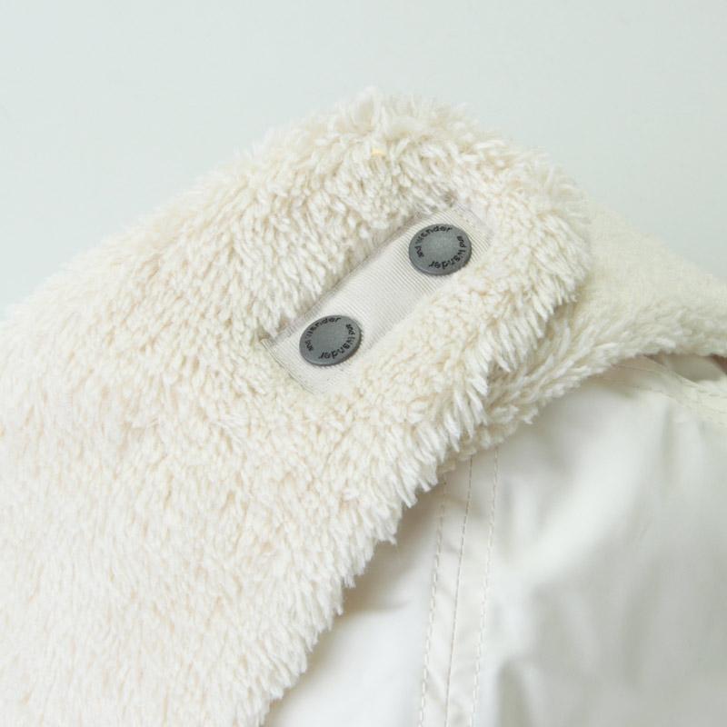and wander(アンドワンダー) high loft fleece ear cap