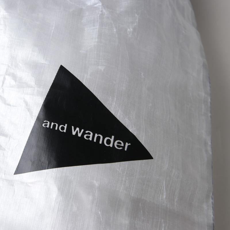 and wander(アンドワンダー) cuben fiber stuffsack large
