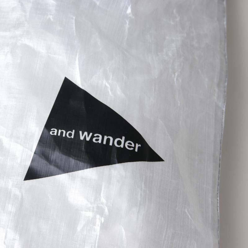 and wander(アンドワンダー) cuben fiber stuffsack