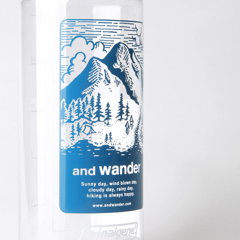 and wander(アンドワンダー) and wander nalgene bottle