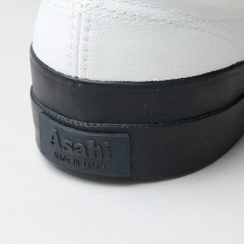 ASAHI(アサヒ) ASAHI DECK SLIP-ON MEN - MONOCHROME