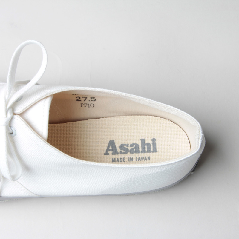 ASAHI(アサヒ) ASAHI DECK MEN - WHITE / GRAY