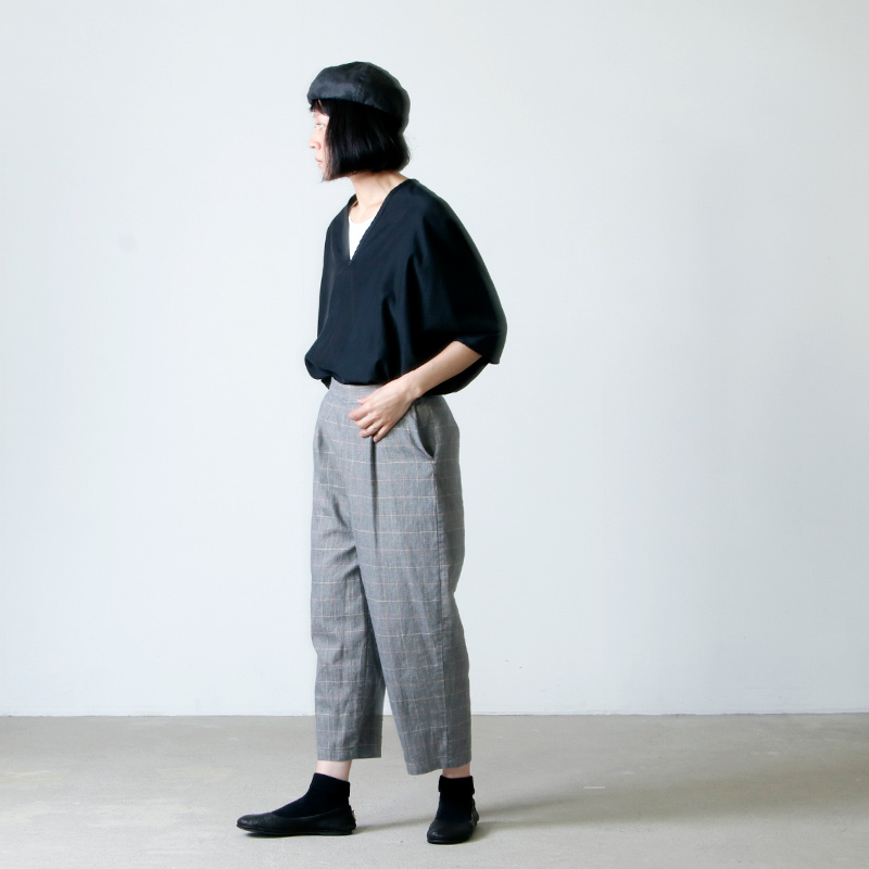 Atelier d'antan(アトリエ ダンタン) ワイドパンツ Salvador