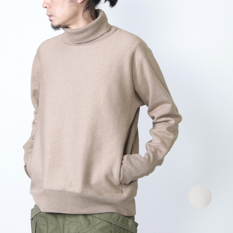 A VONTADE (ア ボンタージ) 26/2 BD Turtle Neck Sweat / タートルネックスウェット