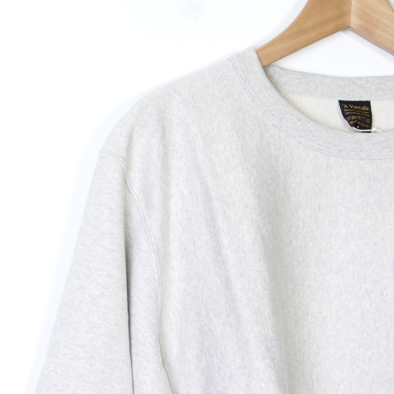 A VONTADE(ア ボンタージ) Reverse Crew Sweat L/S