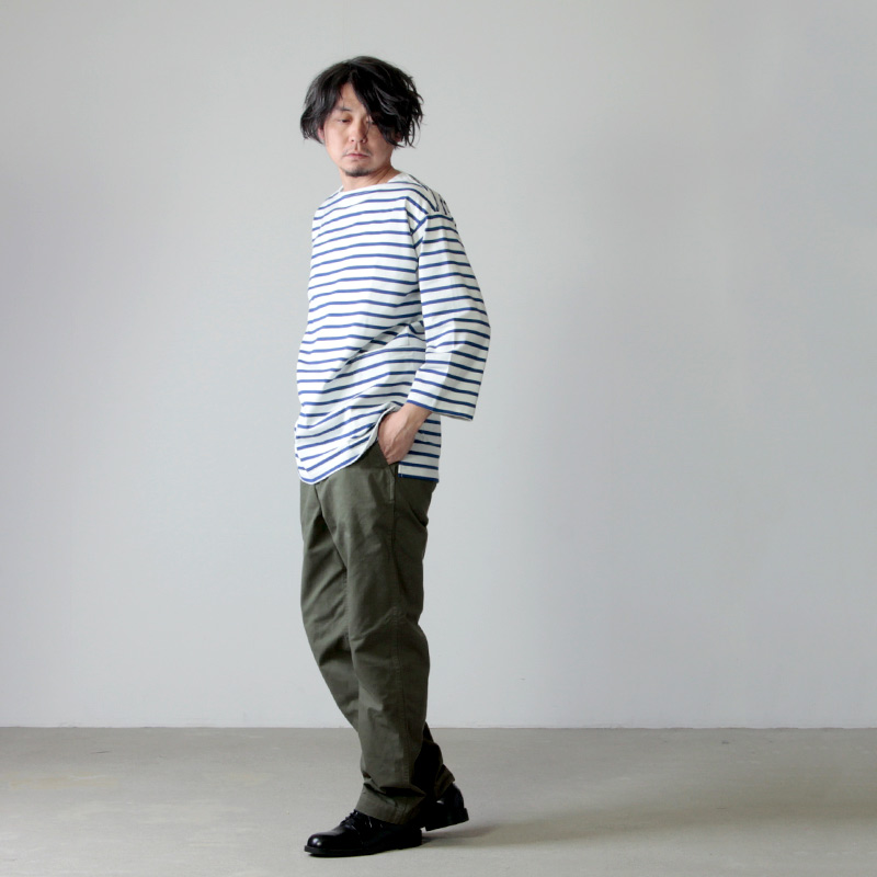 A VONTADE(ア ボンタージ) Boatneck 3/4 Sleeve Border