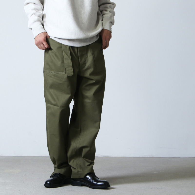 A VONTADE(ア ボンタージ) Jeep Driver Trousers Modify