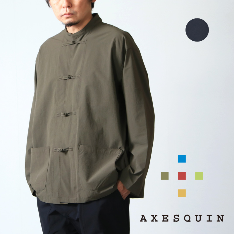 AXESQUIN (アクシーズクイン) TECH KUNG-FU JACKET / テックカンフージャケット