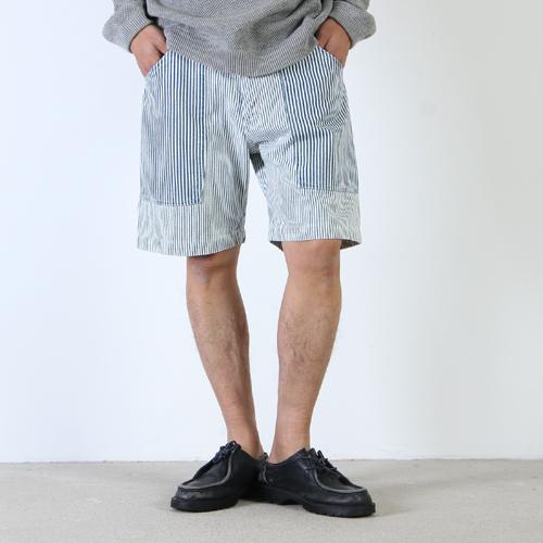 BAMBOOSHOOTS (バンブーシュート) KATO Side Patch Pocket Shorts