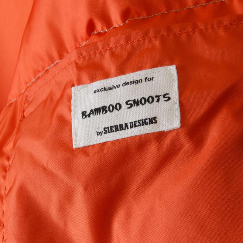 BAMBOOSHOOTS(バンブーシュート) Whitey Parka ex.SIERRA DESIGNS