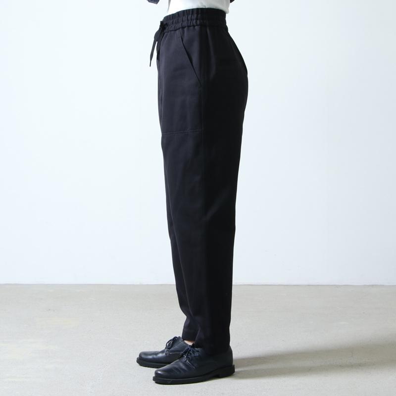 beautiful people(ビューティフルピープル) selvedge logo chino drawstring pants