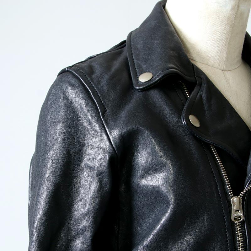 beautiful people(ビューティフルピープル) shrink leather riders jacket