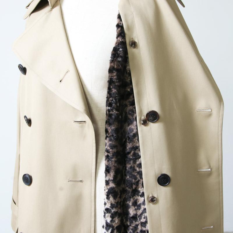 beautiful people(ビューティフルピープル) ultimate pima twill maxilong trench coat