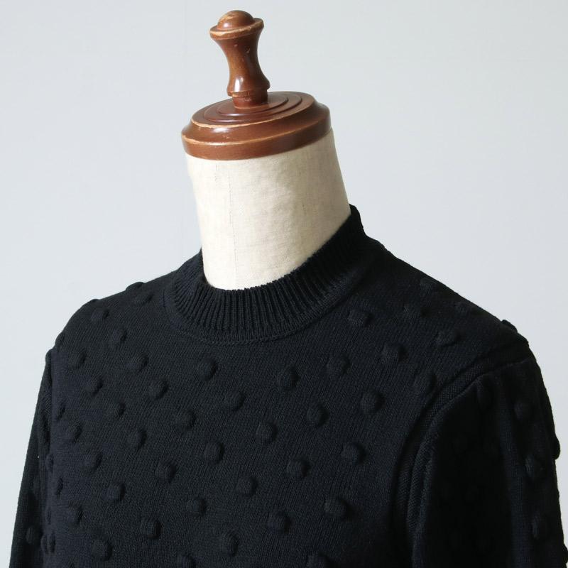beautiful people(ビューティフルピープル) popcorn knitting pullover