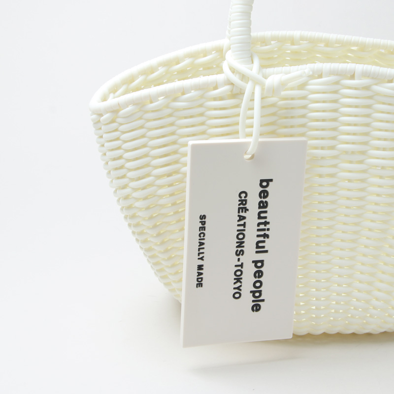 beautiful people(ビューティフルピープル) tube knitting basket S