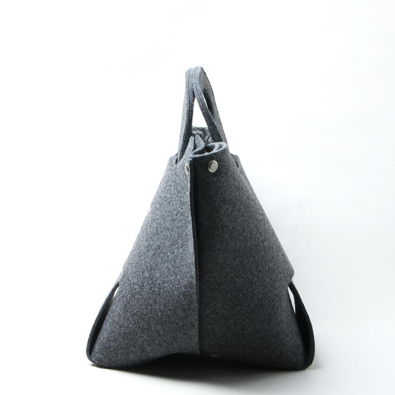 beautiful people(ビューティフルピープル) recycled felt constructive bag L