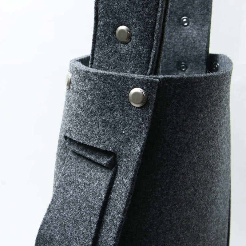 beautiful people(ビューティフルピープル) recycled felt const ructive shoulder bag