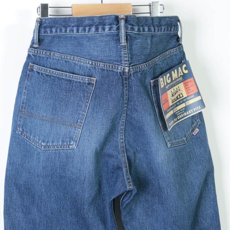 BIG MAC(ビッグマック) ×Ordinary Fits DENIM STRAIGHT PANTS