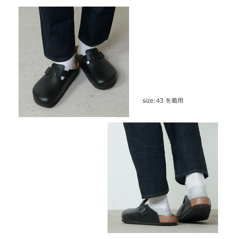 Birkenstock(ビルケンシュトック) BOSTON Natural Leather For Men