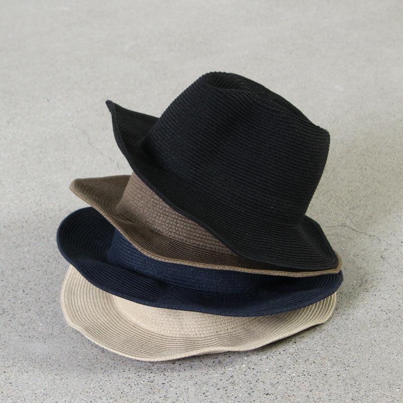 Bronte / ID HATS (ブロンテ) 中折れペーパーハット