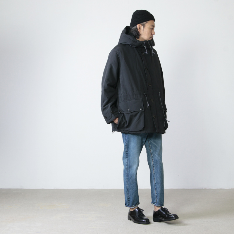 BURLAP OUTFITTER(バーラップアウトフィッター) BUTTON FRONT PARKA
