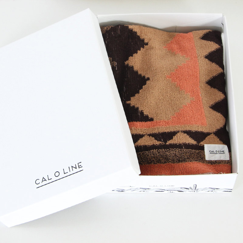 CAL O LINE(キャルオーライン) NAVAJO COTTON BLANKET