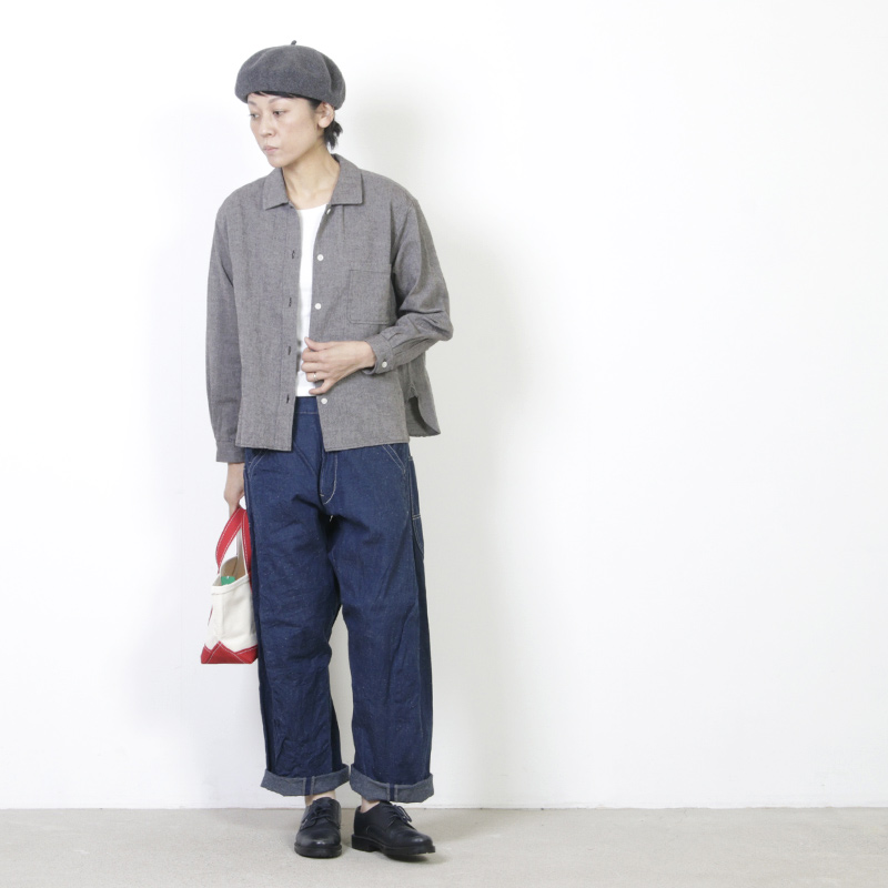 CAL O LINE(キャルオーライン) BARREL PAINTER PANTS for Woman