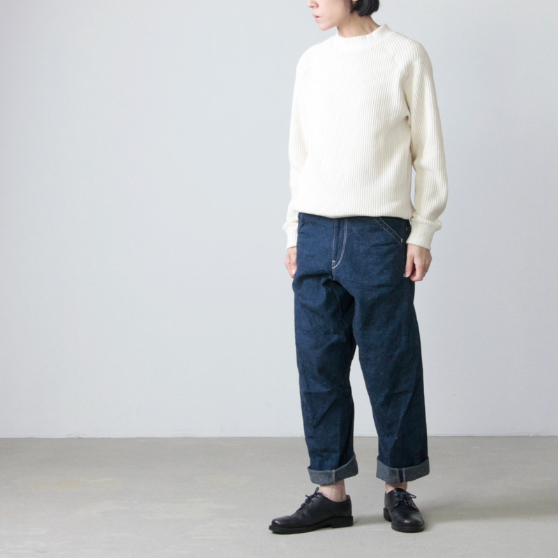 CAL O LINE(キャルオーライン) COMFORT PAINTER PANTS for Woman