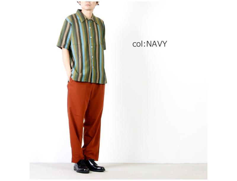 CAL O LINE(キャルオーライン) 60' STRIPE S/S SHIRT